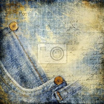 Vintage-Jeans Hintergrund