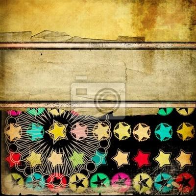 vintage trendy Hintergrund