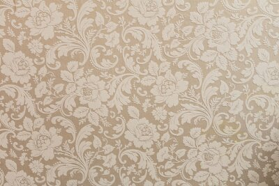 Poster vintage wallpaper with flowers