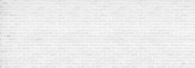 Poster vintage white brick wall texture background