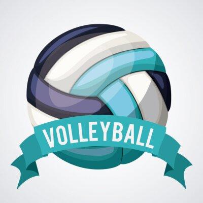 Poster Volleyball-Ligaentwurf