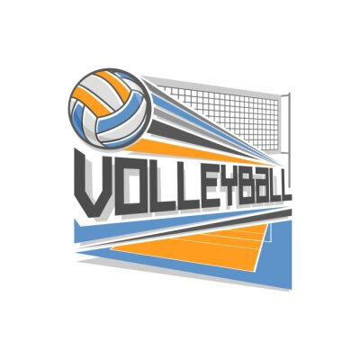Poster Volleyball-Logo