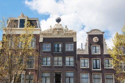 Vor der Wohnanlage Amsterdam18th Jahrhundert, Niederlande.