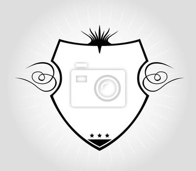 Wappen vorlage wandposter • poster Medaille, einfügen, garantieren ...