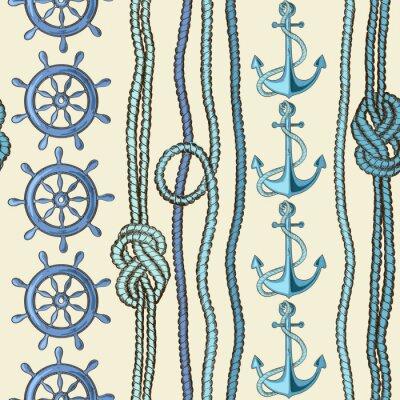 Poster Wasser nahtlose Muster