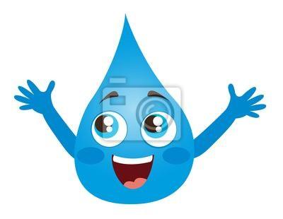 Poster Water Drop