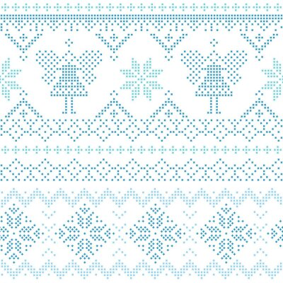 Poster Weihnachten skandinavischen Karte - für Einladung, Tapeten