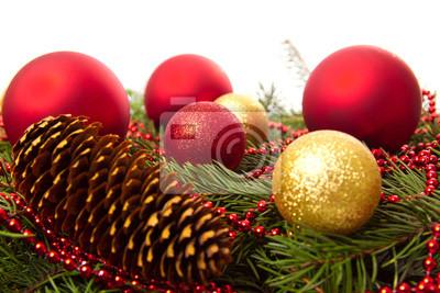 Weihnachtskugeln Tannenzapfen