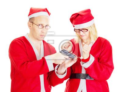 Weihnachten In Handschellen.Poster Weihnachtsmann In Handschellen