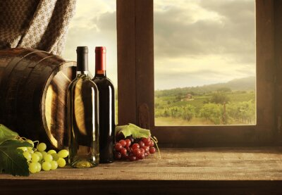 Poster Wein