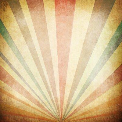 Poster Weinlese-Sonnenstrahlen Hintergrund