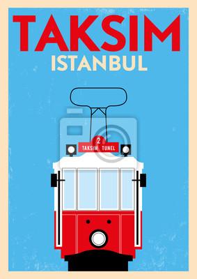 Weinlese Taksim Poster