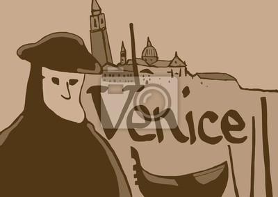 Weinlese Venedig Symbole