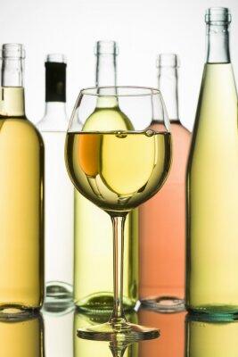 Poster Weißwein