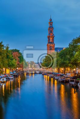 Westlichen Kirche in Amsterdam