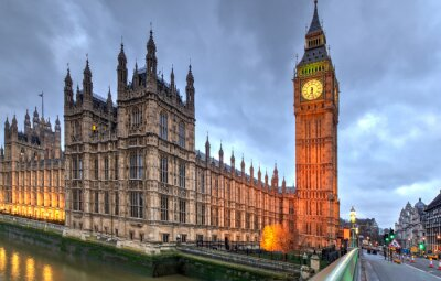 Poster Westminster Big Ben