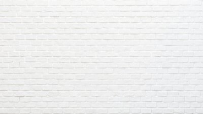 Poster White brick wall texture background for stone tile block painted in grey light color wallpaper modern interior and exterior and backdrop design