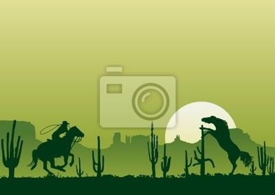 Wild-West-Pferde