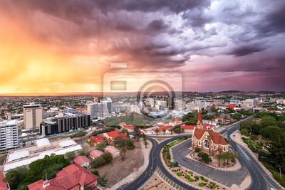Poster Windhoek gets rain
