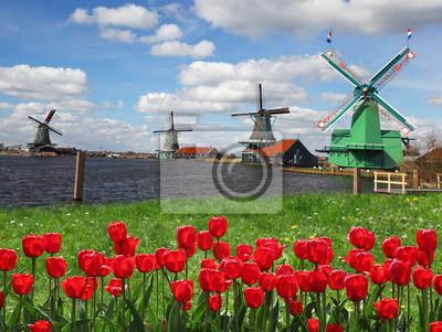 Windmühlen in den Niederlanden, Zaanse Schans