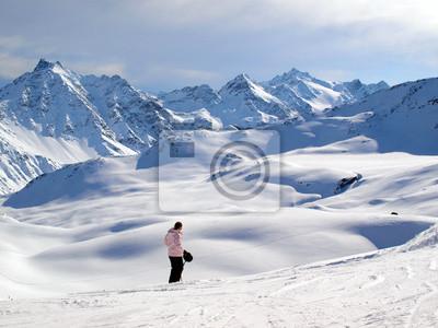 Winter in Alpen