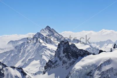 Poster Winterlandschaft im Matterhorn