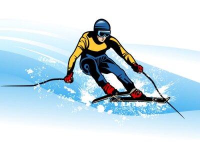 Poster Wintersport