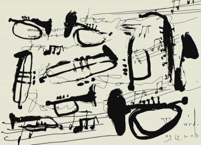 Poster Музыкальные инструменты