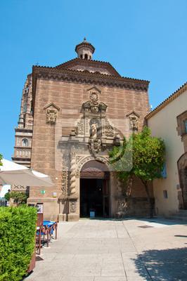 Das Poble Espanyol. Barcelona, Spanien.
