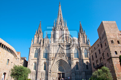 Kathedrale von Barcelona, St. Eulalia.