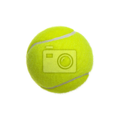 Poster Сlose-up of tennis ball