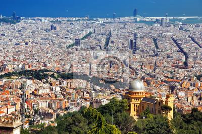 Luftaufnahme von Barcelona, Spanien