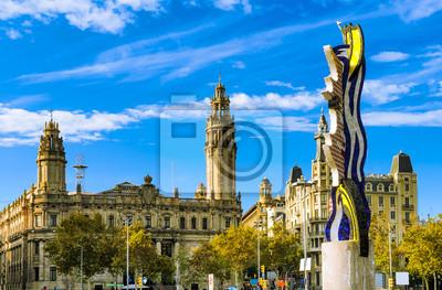 Plaza Antonio Lopez in Barcelona, Spanien