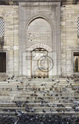 Yeni Cami Enterance in Eminönü, Istanbul