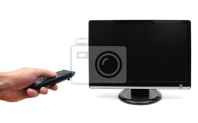 Zappen den Fernseher