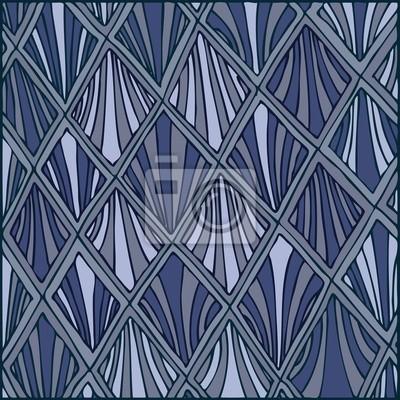 Zier-Hintergrund, Vektor-Illustration, Hand gezeichnet