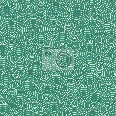 poster zusammenfassung blau nahtlose muster kann fr tapeten muster fllt web seite - Tapeten Mit Muster