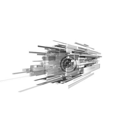 3D-Raum Würfel
