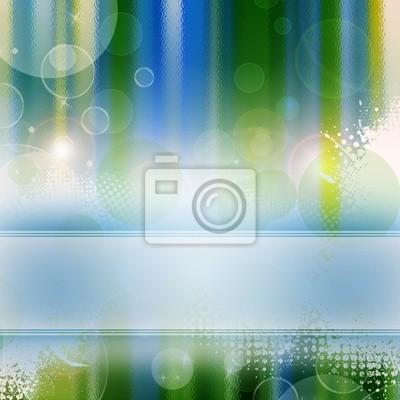 Abstract background - Vorlage in grün und blau