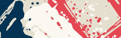 Sticker Abstract color hand drawn backgrounds for design.