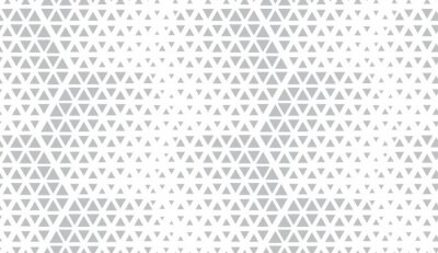 Sticker Abstract geometric pattern. Seamless vector background. White and grey halftone. Graphic modern pattern. Simple lattice graphic design.