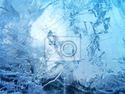 Sticker Abstract ice texture