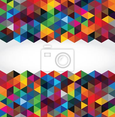 Abstract modern geometrischen Hintergrund