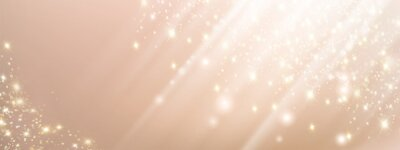 Sticker Abstract pink beauty background with lights and sparkles