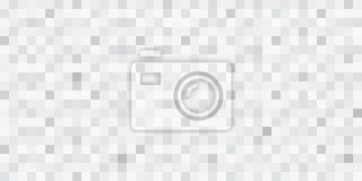 Sticker Abstract seamless mosaic vector background. Grey squares.