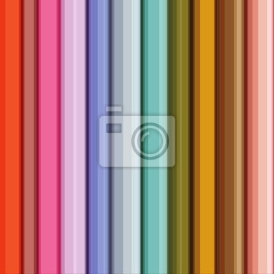 Abstract Stripes Design On Color Background