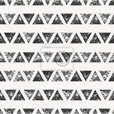 Abstrakt dreieckige Formen Seamless Pattern