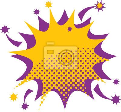 Abstrakt Farbe star burst, Vektor-Illustration