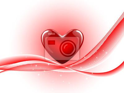 Abstrakt Herz-Form