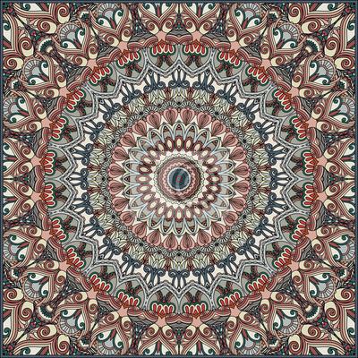 Abstrakt ornamentalen Hintergrund. Ethnische Textil